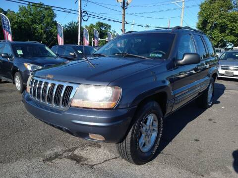 2002 Jeep Grand Cherokee for sale at P J McCafferty Inc in Langhorne PA
