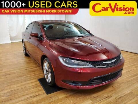 2016 Chrysler 200 for sale at Car Vision Buying Center in Norristown PA