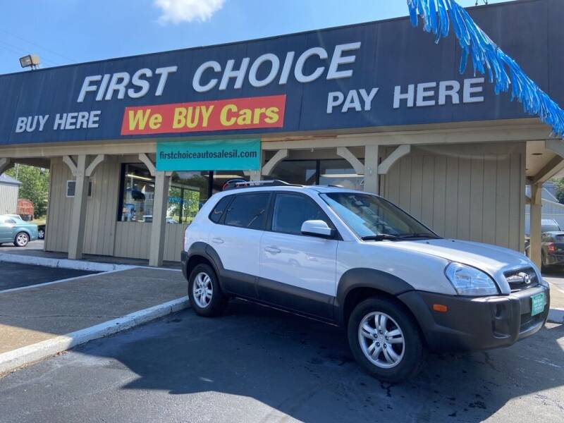 2007 Hyundai Tucson for sale at First Choice Auto Sales in Rock Island IL