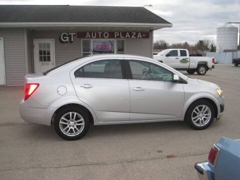 2013 Chevrolet Sonic for sale at G T AUTO PLAZA Inc in Pearl City IL