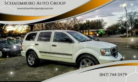 2008 Dodge Durango for sale at Schaumburg Auto Group in Schaumburg IL