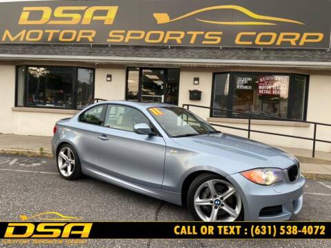 2011 BMW 1 Series for sale at DSA Motor Sports Corp in Commack NY