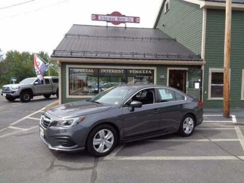 2018 Subaru Legacy for sale at SCHURMAN MOTOR COMPANY in Lancaster NH