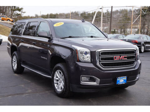 2016 GMC Yukon XL for sale at VILLAGE MOTORS in South Berwick ME