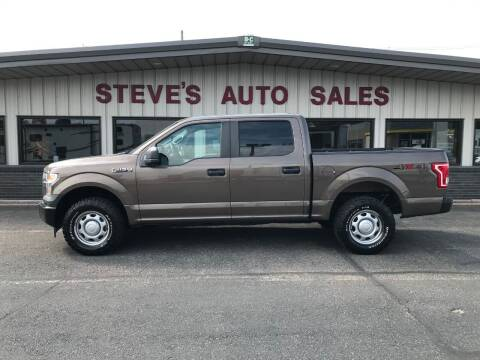 2017 Ford F-150 for sale at STEVE'S AUTO SALES INC in Scottsbluff NE