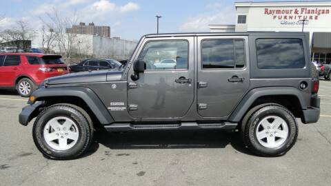 2017 Jeep Wrangler Unlimited for sale at AFFORDABLE MOTORS OF BROOKLYN - Inventory in Brooklyn NY