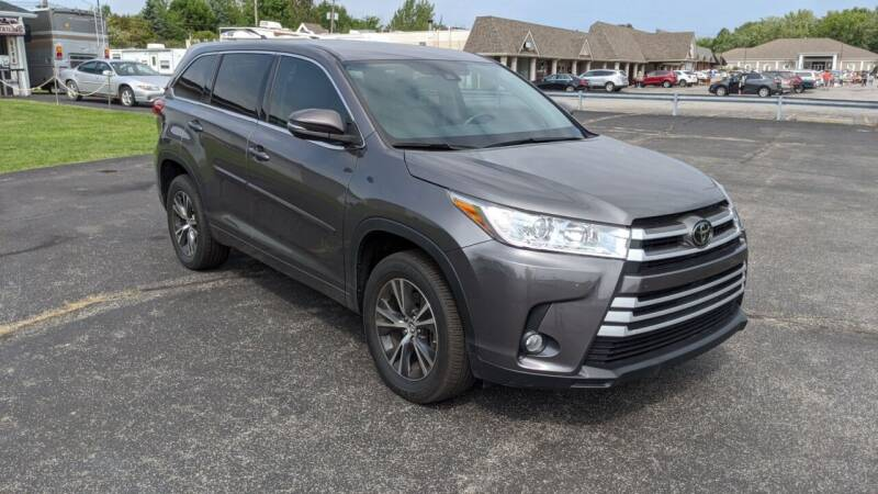 2017 Toyota Highlander for sale at Newport Auto Group in Austintown OH
