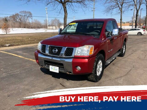 2005 Nissan Titan for sale at Stryker Auto Sales in South Elgin IL