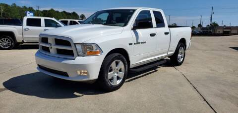 2012 RAM Ram Pickup 1500 for sale at WHOLESALE AUTO GROUP in Mobile AL