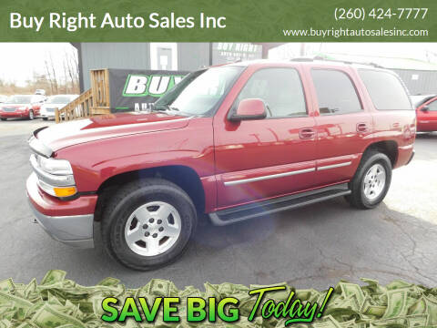 2005 Chevrolet Tahoe for sale at Buy Right Auto Sales Inc in Fort Wayne IN