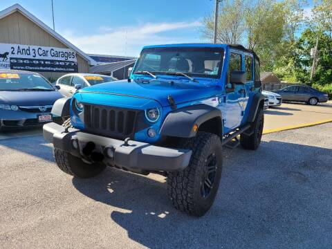 2015 Jeep Wrangler Unlimited for sale at The Car Store Saint Charles in Saint Charles MO