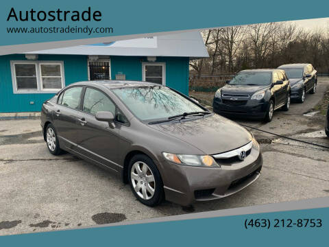 2009 Honda Civic for sale at Autostrade in Indianapolis IN