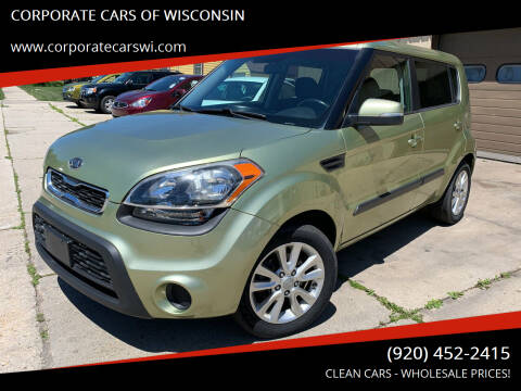 2012 Kia Soul for sale at CORPORATE CARS OF WISCONSIN - DAVES AUTO SALES OF SHEBOYGAN in Sheboygan WI