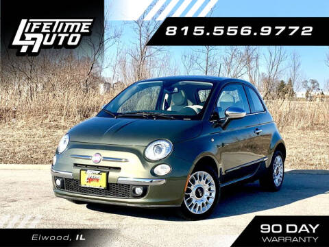 2013 FIAT 500 for sale at Lifetime Auto in Elwood IL