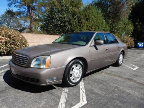 2003 Cadillac DeVille for sale at California Cadillac & Collectibles in Los Angeles CA
