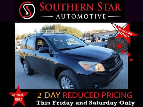 2007 Toyota RAV4 for sale at Southern Star Automotive, Inc. in Duluth GA
