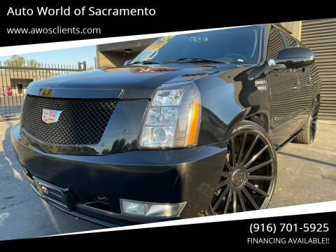 2007 Cadillac Escalade ESV for sale at Auto World of Sacramento Stockton Blvd in Sacramento CA