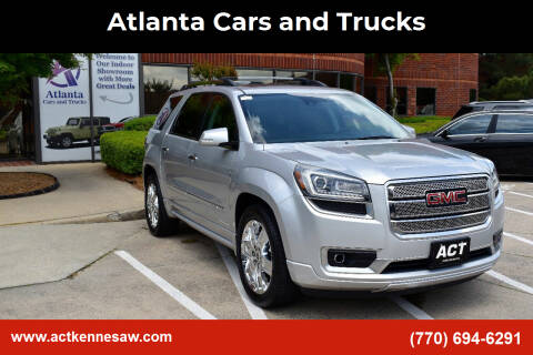 2014 GMC Acadia for sale at Atlanta Cars and Trucks in Kennesaw GA