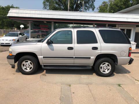 2005 Chevrolet Tahoe for sale at Midtown Motors in North Platte NE