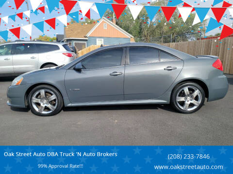 2008 Pontiac G6 for sale at Oak Street Auto DBA Truck 'N Auto Brokers in Pocatello ID
