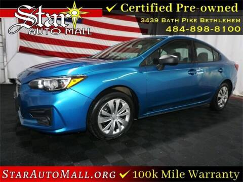 2017 Subaru Impreza for sale at STAR AUTO MALL 512 in Bethlehem PA