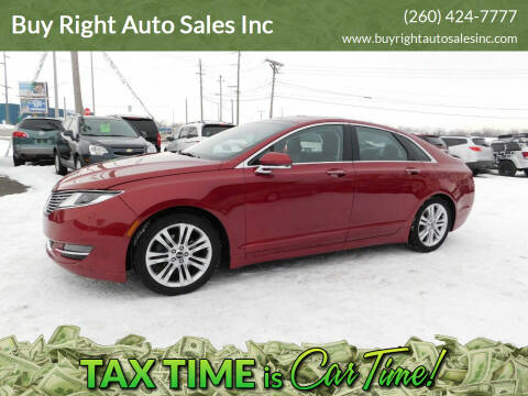 2014 Lincoln MKZ Hybrid for sale at Buy Right Auto Sales Inc in Fort Wayne IN