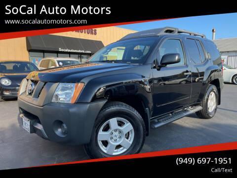 2008 Nissan Xterra for sale at SoCal Auto Motors in Costa Mesa CA