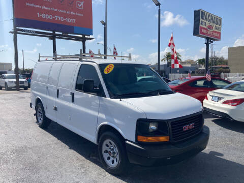 2013 GMC Savana Cargo for sale at MACHADO AUTO SALES in Miami FL