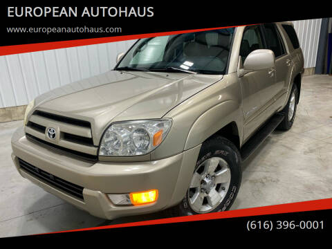 2005 Toyota 4Runner for sale at EUROPEAN AUTOHAUS in Holland MI