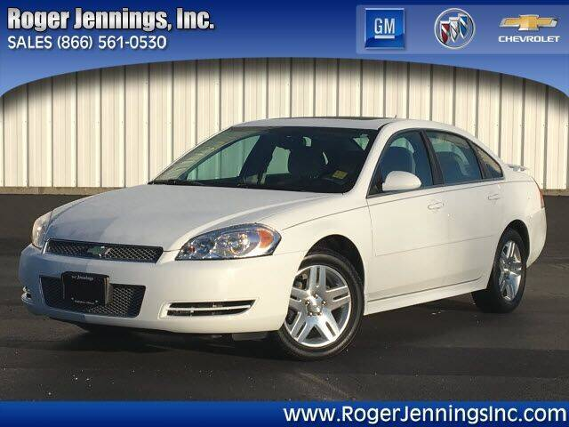 2012 Chevrolet Impala for sale at ROGER JENNINGS INC in Hillsboro IL