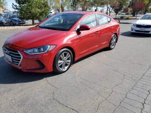 2017 Hyundai Elantra for sale at Matador Motors in Sacramento CA