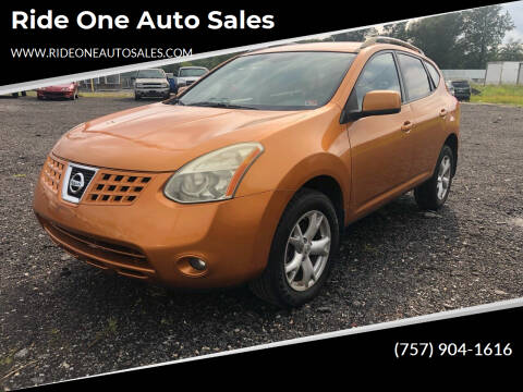 2008 Nissan Rogue for sale at Ride One Auto Sales in Norfolk VA