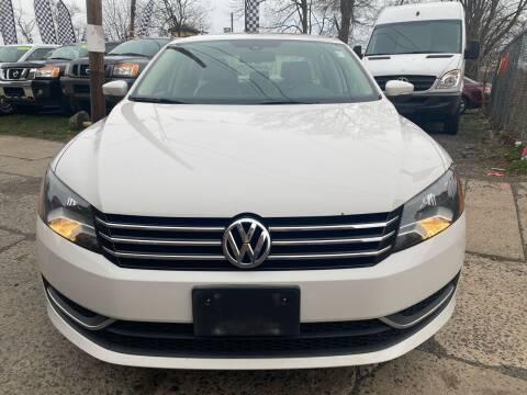 2014 Volkswagen Passat for sale at Best Cars R Us in Plainfield NJ