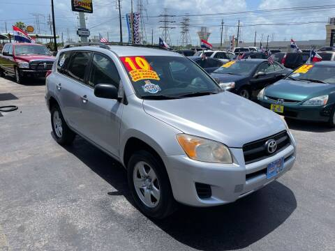 2010 Toyota RAV4 for sale at Texas 1 Auto Finance in Kemah TX