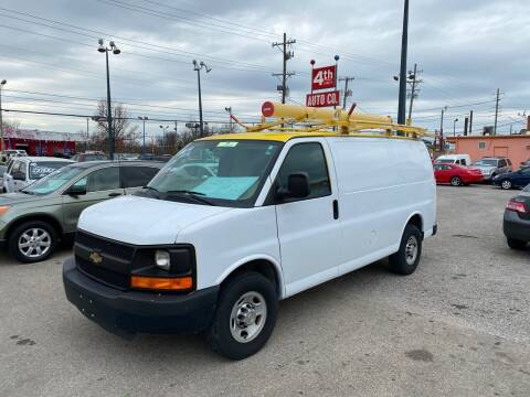 2013 Chevrolet Express Cargo for sale at 4th Street Auto in Louisville KY
