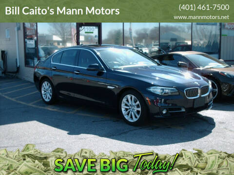 2016 BMW 5 Series for sale at Bill Caito's Mann Motors in Warwick RI