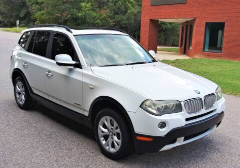 2010 BMW X3 for sale at Weaver Motorsports Inc in Cary NC