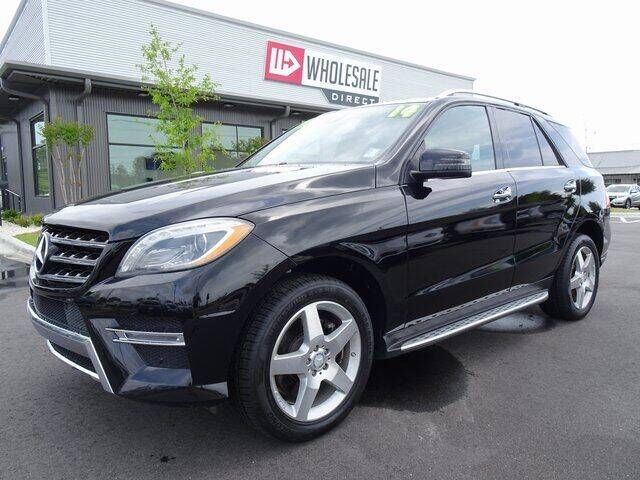 2014 Mercedes-Benz M-Class for sale at Wholesale Direct in Wilmington NC