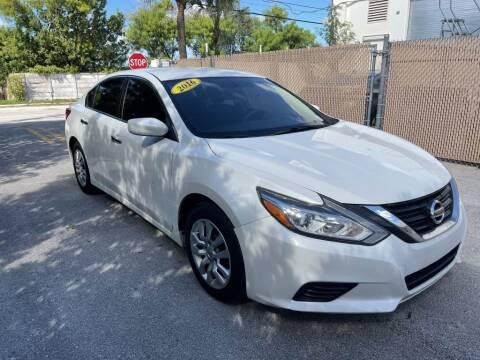2016 Nissan Altima for sale at Zak Motor Group in Deerfield Beach FL