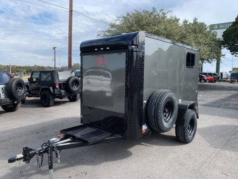 2021 CARGO CRAFT 5X10 OFF ROAD for sale at Trophy Trailers in New Braunfels TX