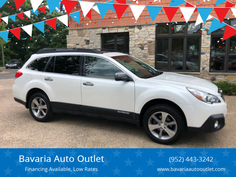 2014 Subaru Outback for sale at Bavaria Auto Outlet in Victoria MN