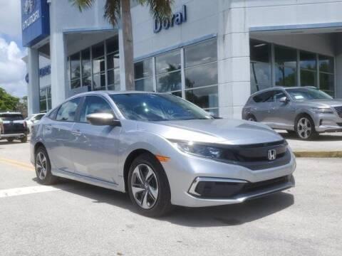 2020 Honda Civic for sale at DORAL HYUNDAI in Doral FL