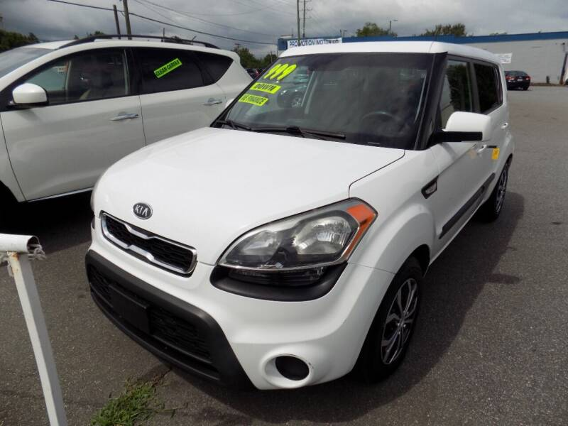 2012 Kia Soul for sale at Pro-Motion Motor Co in Lincolnton NC
