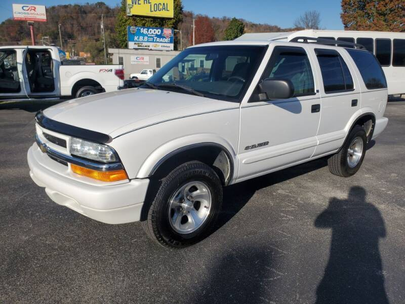 2002 Chevrolet Blazer for sale at MCMANUS AUTO SALES in Knoxville TN