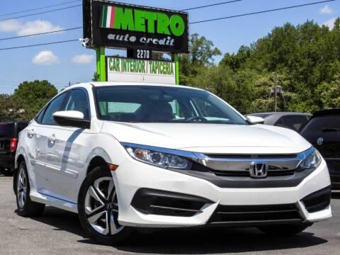 2016 Honda Civic for sale at Metro Auto Credit in Smyrna GA