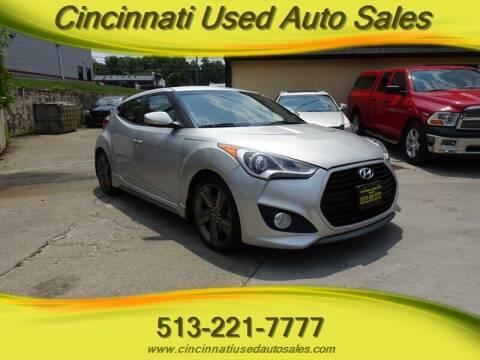2014 Hyundai Veloster for sale at Cincinnati Used Auto Sales in Cincinnati OH