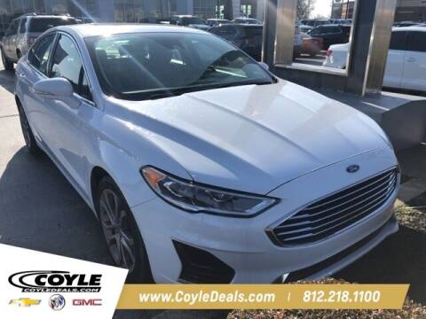 2019 Ford Fusion for sale at COYLE GM - COYLE NISSAN in Clarksville IN