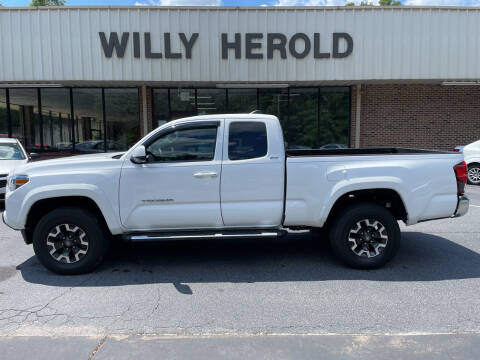 2019 Toyota Tacoma for sale at Willy Herold Automotive in Columbus GA