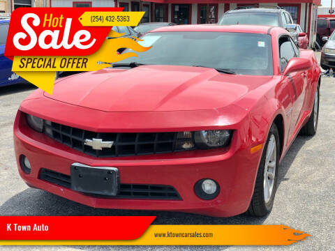 2013 Chevrolet Camaro for sale at K Town Auto in Killeen TX