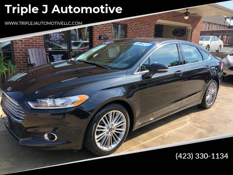 2013 Ford Fusion for sale at Triple J Automotive in Erwin TN